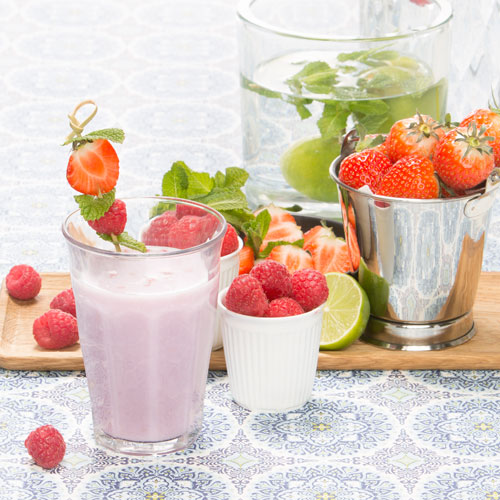 PS00329 Smoothie aarbei framboos